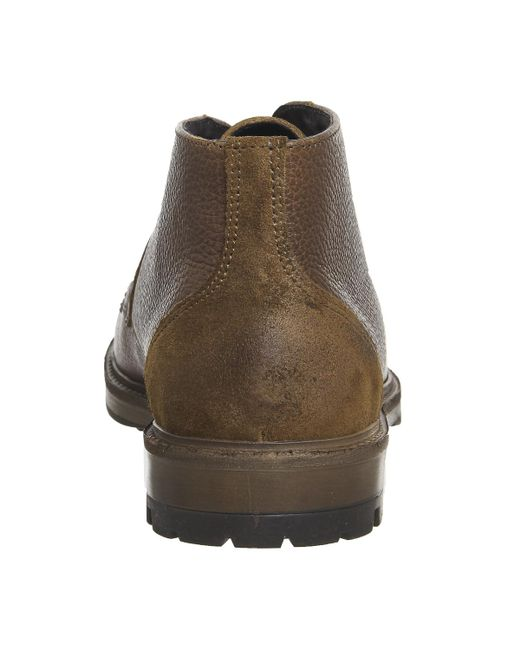 Office Brown Ambador Chukka Boots For Men Lyst