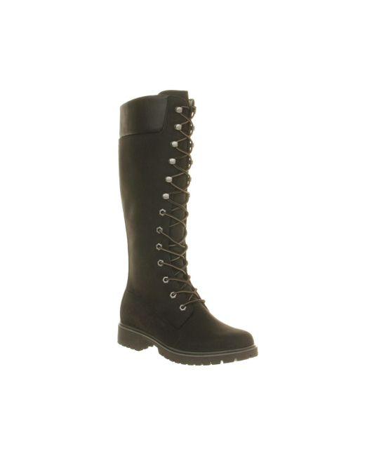 Timberland | Black 14 Inch Premium Boots | Lyst