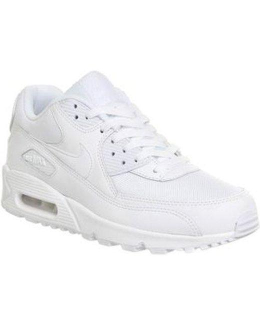 1797cd9fec Lyst - Nike Air Max 90 in White for Men