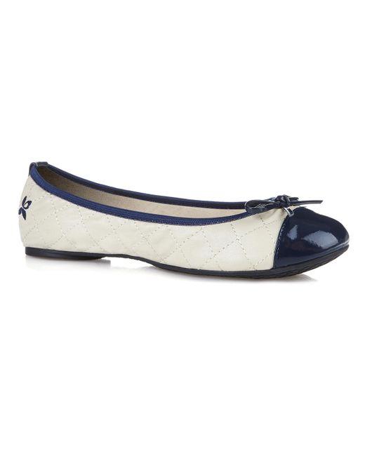 Butterfly Twists | Blue Olivia Foldable Ballerina Pumps | Lyst