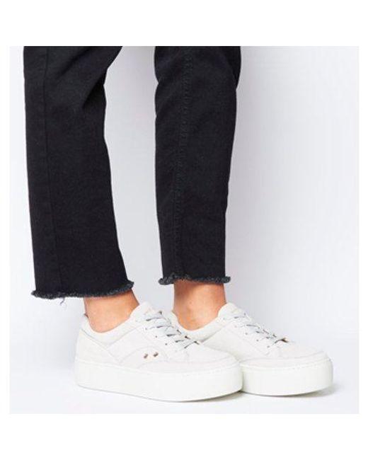 b79cfe1b7c91ab Vagabond Jessie Sneaker in White - Lyst