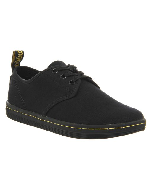 Dr. Martens | Black Eclectic Soho 3 Eye Shoes | Lyst