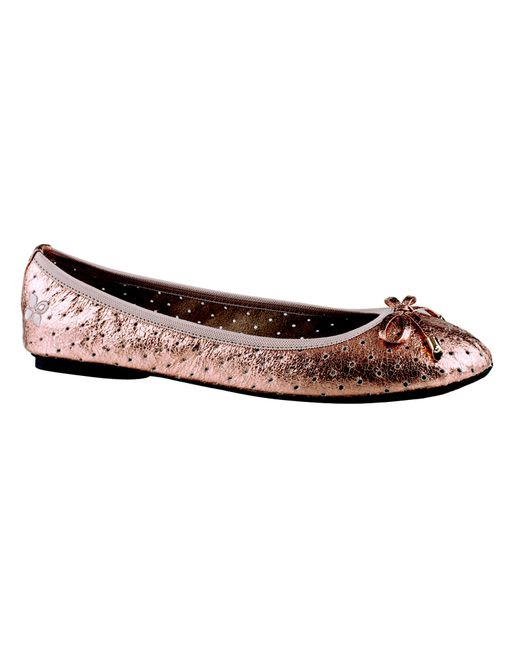 Butterfly Twists | Metallic Grace Pump | Lyst