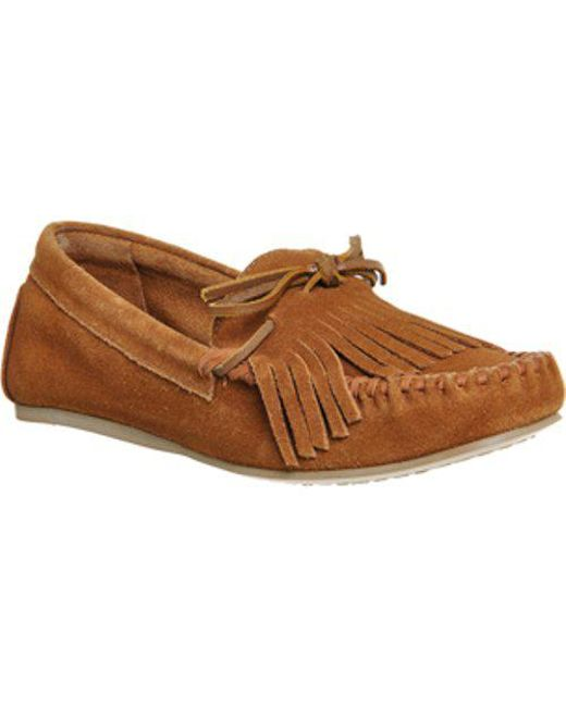 Office - Brown Dante Tasselled Moccasins - Lyst