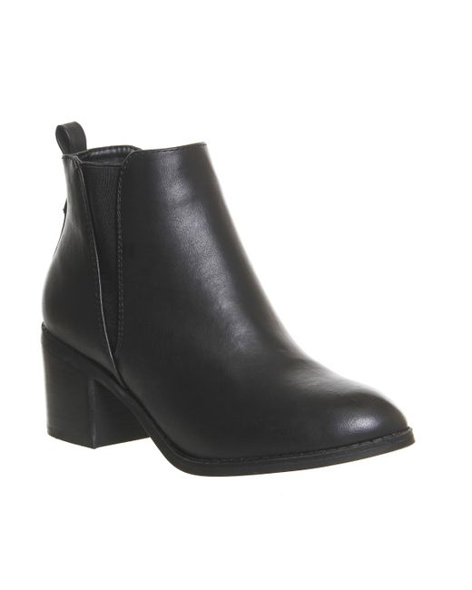 office chelsea boots in black lyst