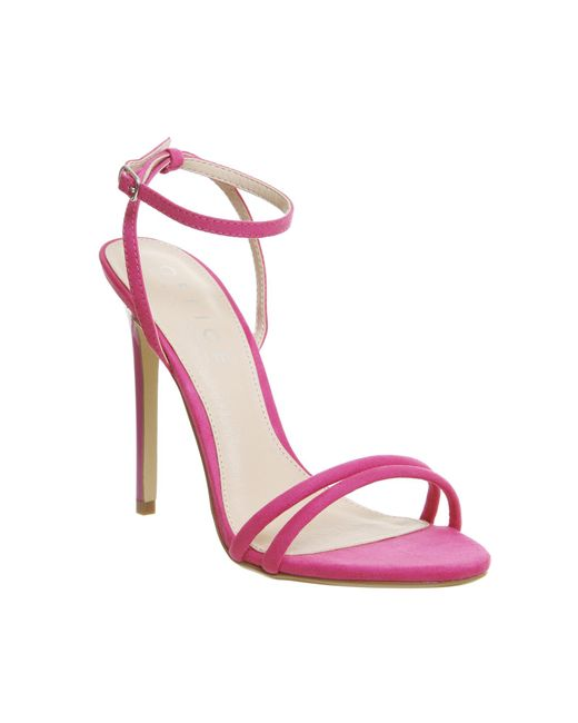 Office | Pink Hibiscus Two Part Sandals | Lyst