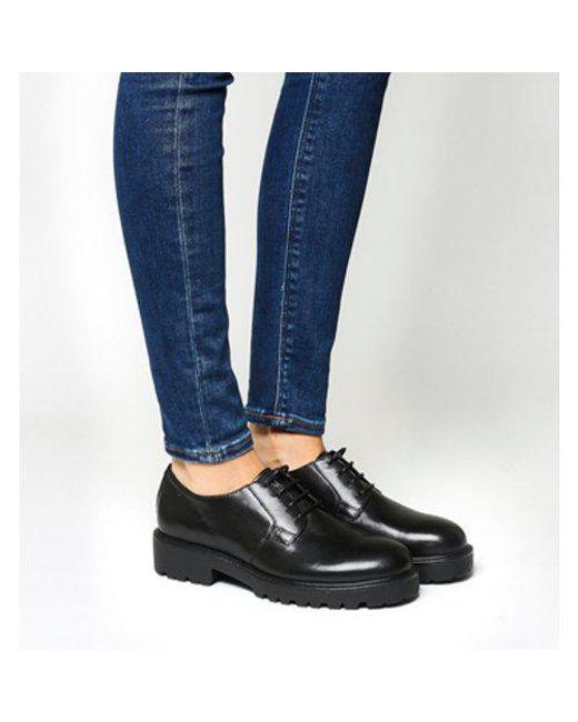 2497031af83da5 Vagabond Kenova Lace Shoe in Black - Lyst