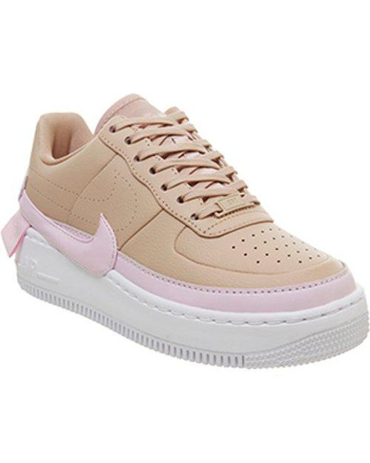 Lyst - Nike Air Force 1 Jester in Natural e06bffe6c