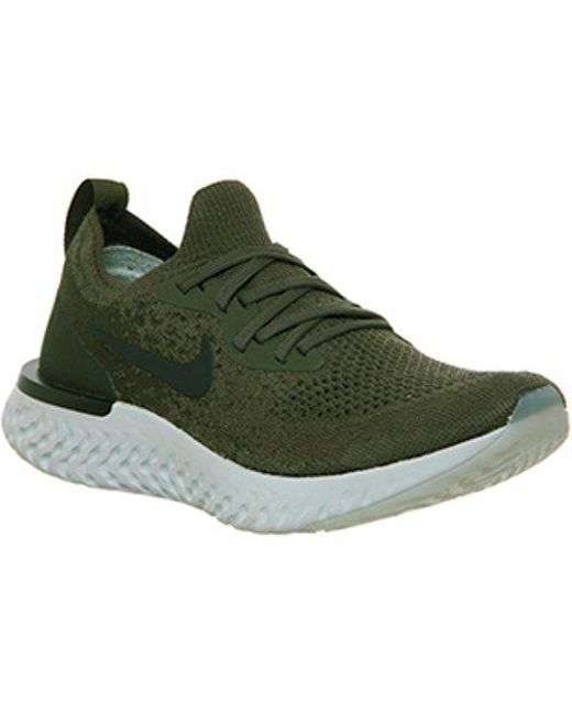 b3fbbc9a5fd4 Lyst - Nike Epic React Flyknit in Green