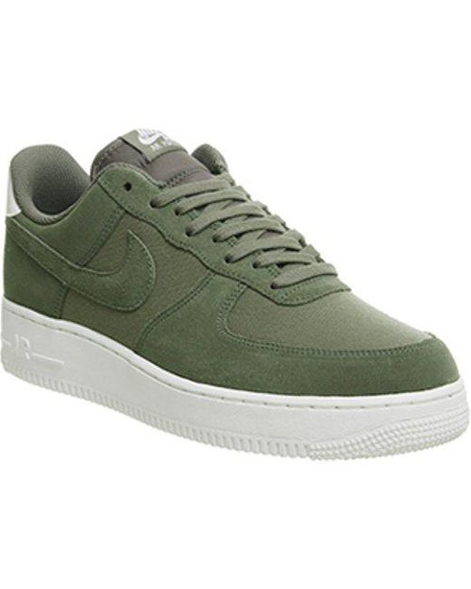 d52abb791cdbed Nike Air Force 1 07 in Green for Men - Lyst