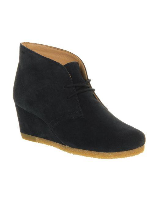 Clarks | Black Yarra Desert Boot | Lyst