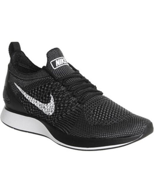 9ae0ade3e5cfe Nike Wmns Air Zoom Mariah Flyknit Racer in Black - Save ...