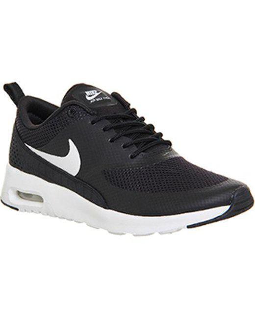 b5e7c6aeb9ae Nike - Black Air Max Thea - Lyst