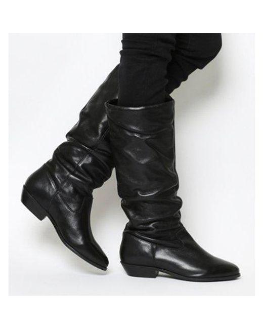Office Black Kimbo Calf Boot Lyst
