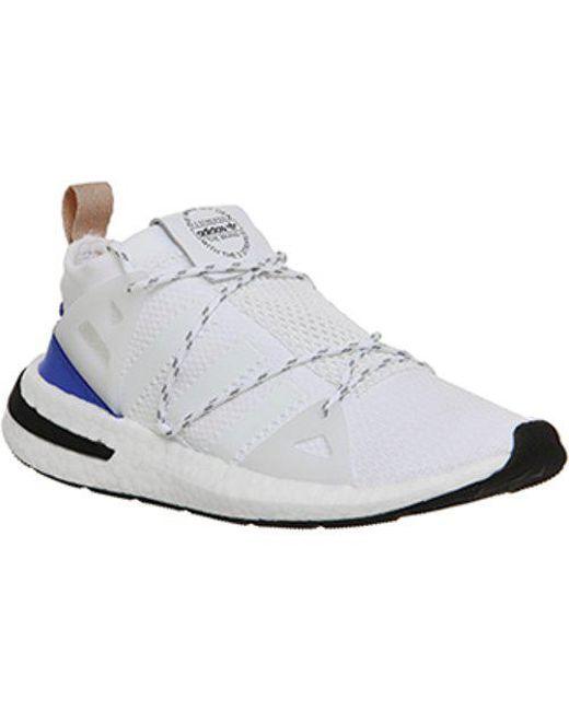 Adidas arkyn f in bianco per gli uomini lyst