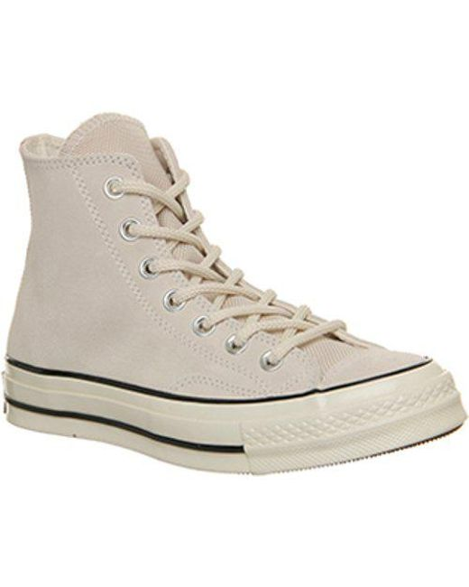 87daed8fce4f Lyst - Converse All Star Hi 70 S in Natural for Men