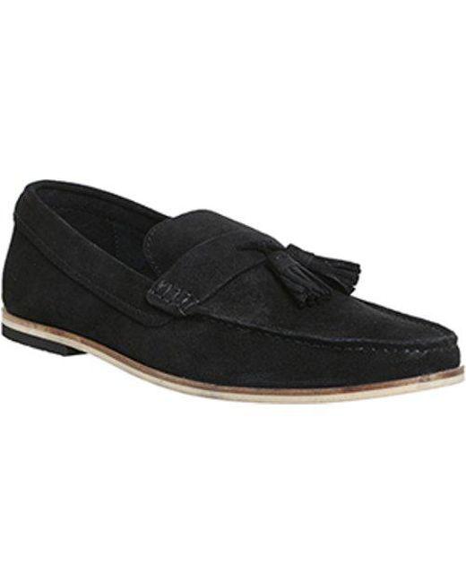 Office - Black Favour Tassel Loafer for Men - Lyst
