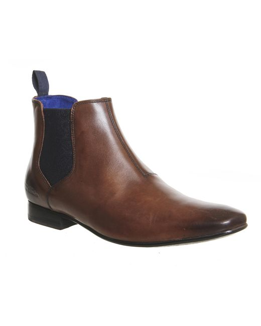 Ted Baker   Brown Hourb 2 Chelsea Boots for Men   Lyst