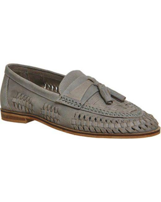Office - Gray Finsbury Woven Tassle Loafer for Men - Lyst