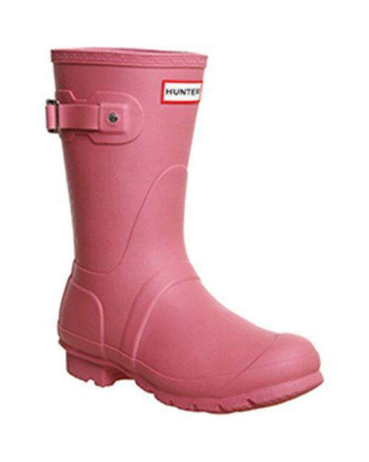 be2a94b92e4 Women's Pink Short Classic Wellies E