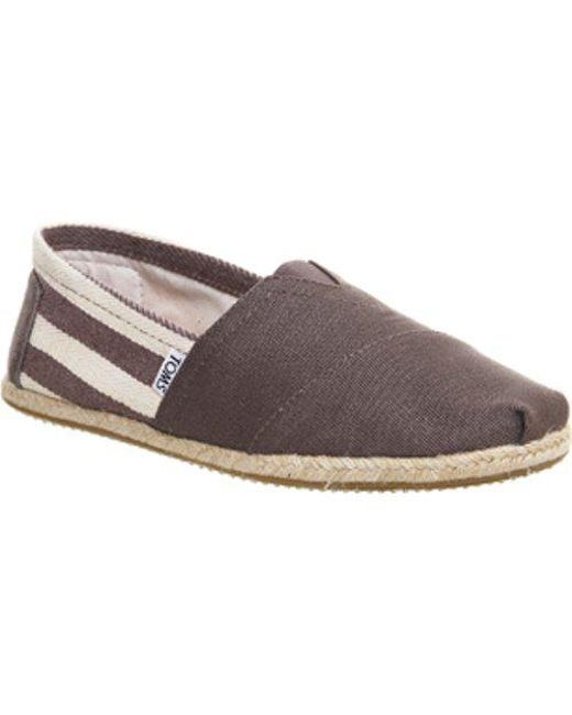 43787aed9f1 Lyst - Toms University Classic in Gray for Men