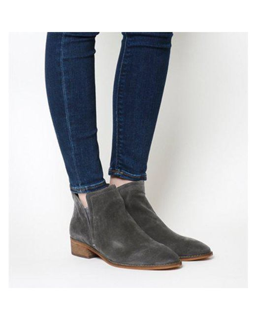 Dolce Vita - Gray Tessey Low Boot Te - Lyst