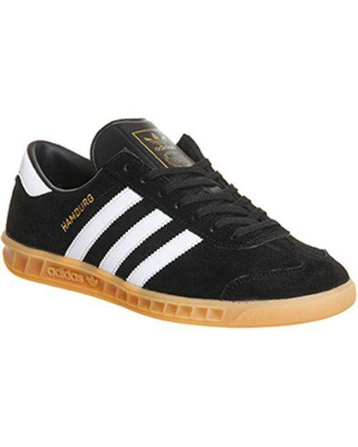Adidas - Black Hamburg for Men - Lyst