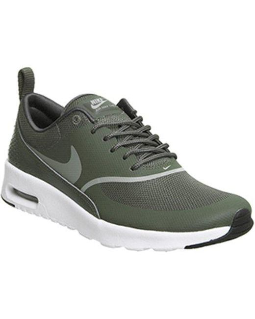 online retailer a9c36 b4628 ... get nike green air max thea lyst c7a59 35a15 ...