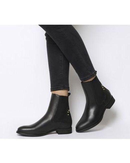 1f081351a4df Shoe The Bear Marla Chelsea in Black - Lyst
