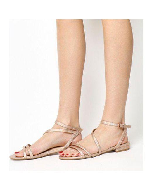 Office - Pink Sugar Asymmetric Sandals - Lyst