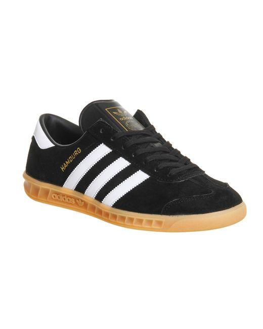 Adidas | Black Hamburg for Men | Lyst