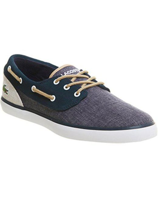 Lacoste - Blue Jouer Deck for Men - Lyst