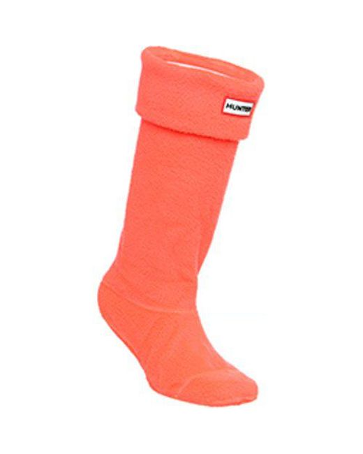 Hunter - Pink Neon Boots Sock for Men - Lyst