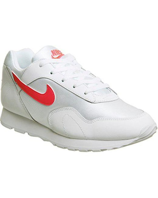 new styles 1d221 19a5c Nike. Womens White Outburst