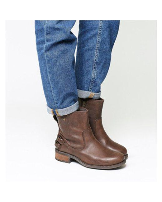 Ugg - Brown Orion Back Strap Boot - Lyst