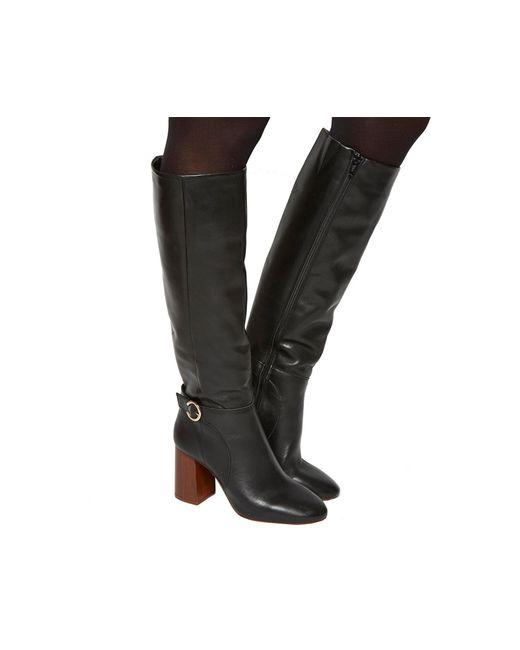 Office | Black Koko Smart Knee Boots | Lyst