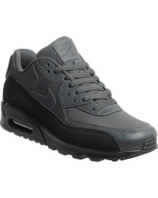 best service f2d64 525a6 Nike - Black Air Max 90 Te for Men - Lyst