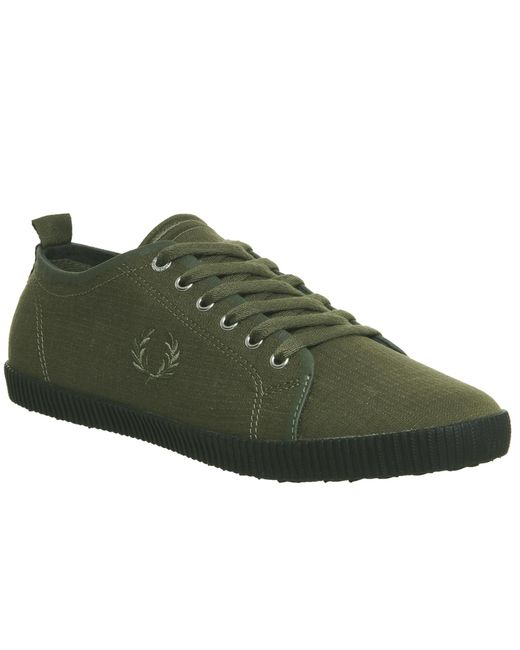Fred Perry | Green Kingston Trainers for Men | Lyst