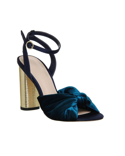 Office | Multicolor Natural Cylindrical Heel Sandals | Lyst