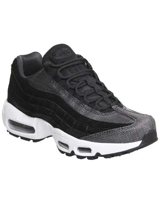 Nike - Black Air Max 95 Trainers - Lyst