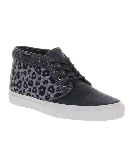 Vans | Blue Chukka Boots Ca for Men | Lyst