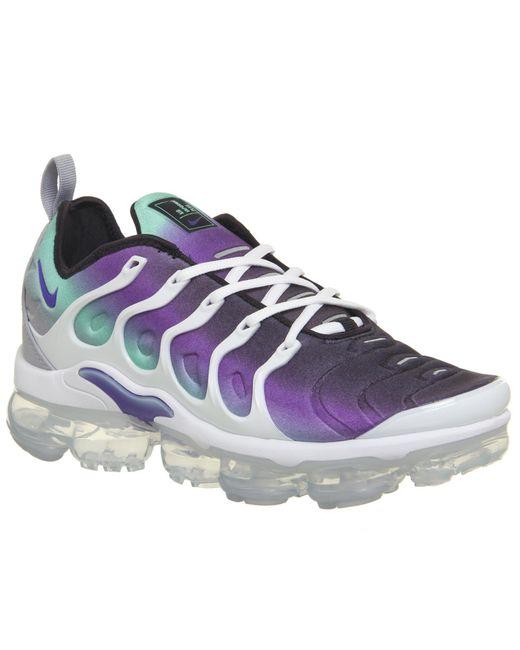 e99b1683c8564 ... official store nike purple air vapormax plus trainers for men lyst  d1257 3630b