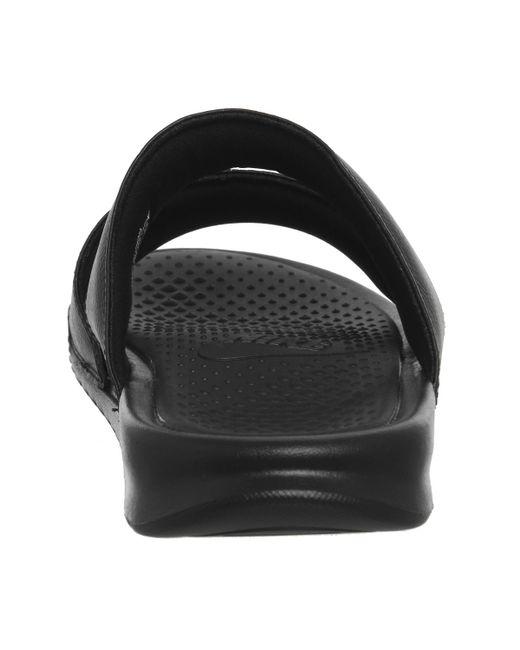 ... Nike - Black Wmns Benassi Duo Slides for Men - Lyst ...