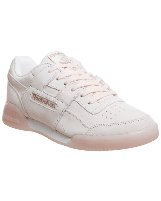 Reebok Workout Plus Trainers in Pink - Save 59% - Lyst 2f3573a2a