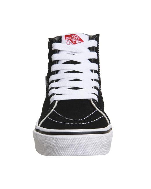 2fdcbb561d Lyst - Vans Sk8 Hi Kids in Black for Men - Save 45.833333333333336%