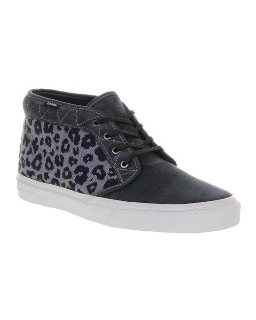 Vans   Blue Chukka Boots Ca for Men   Lyst