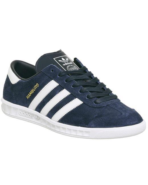 Adidas Originals | Blue Hamburg for Men | Lyst