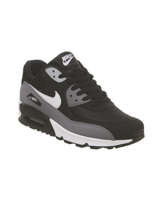 online store fb549 a047d Nike - Gray Air Max 90 Trainers for Men - Lyst ...