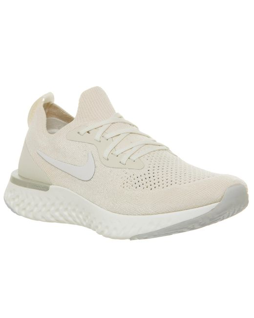 c974543a892a Nike - Natural Epic React Flyknit Trainers - Lyst ...