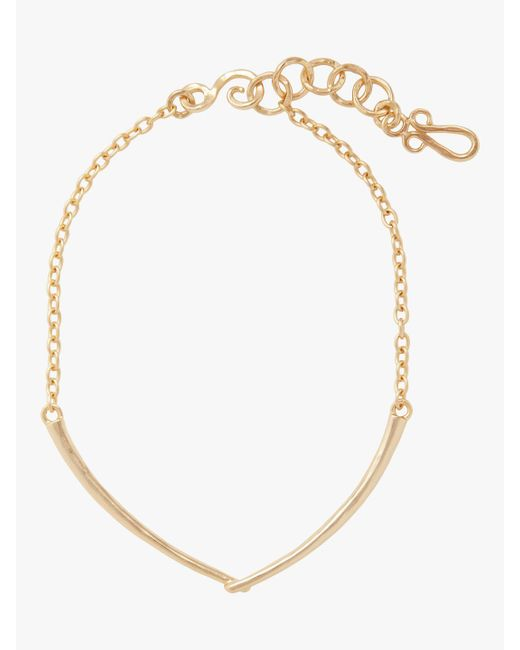 Stephanie Kantis - Metallic Clasped Arch Necklace - Lyst